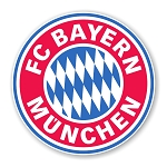 FC Bayern Munchen Round Decal Precision Cut